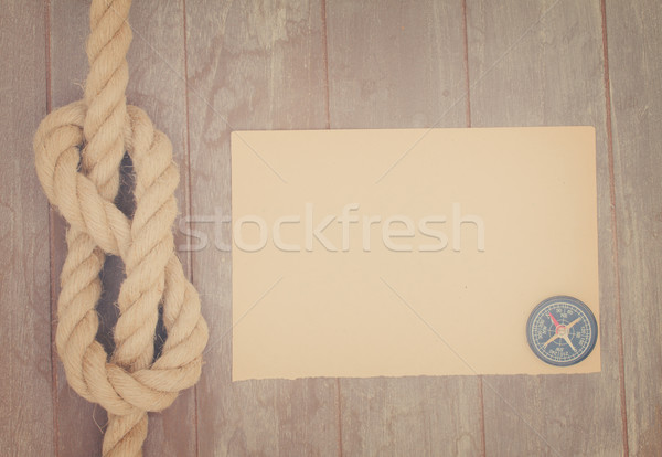 marine knot Stock photo © neirfy