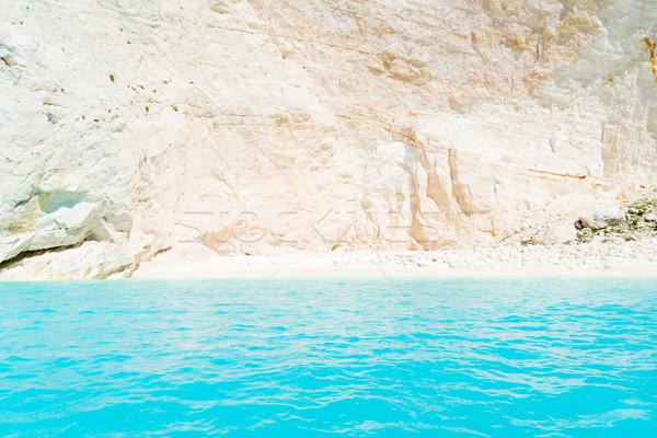 美しい 水 島 岩 自然 風景 ストックフォト © neirfy
