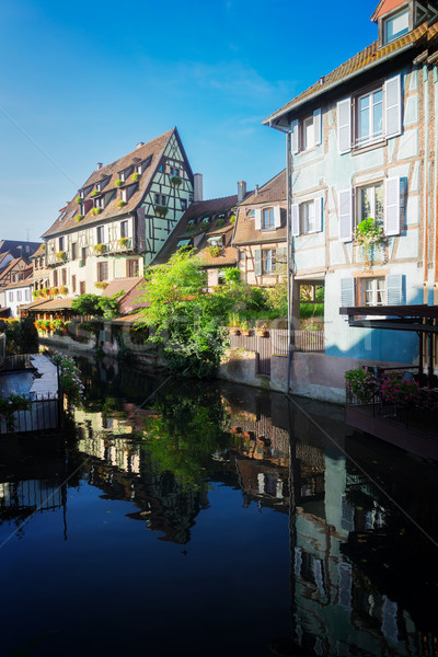 Colmar, beautiful town of Alsace, France Stock photo © neirfy