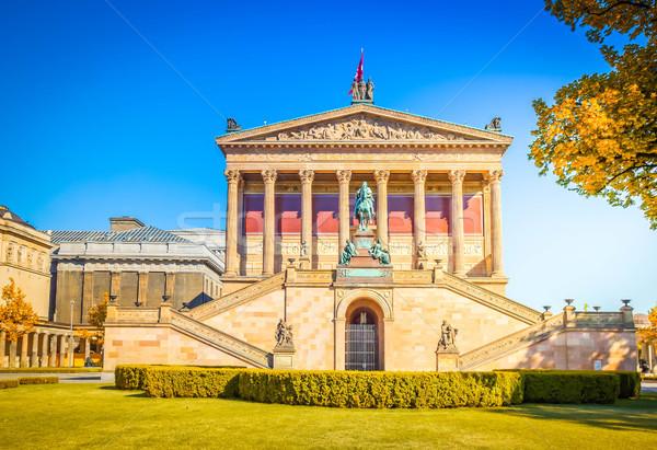 Berlin eski galeri dünya miras Stok fotoğraf © neirfy