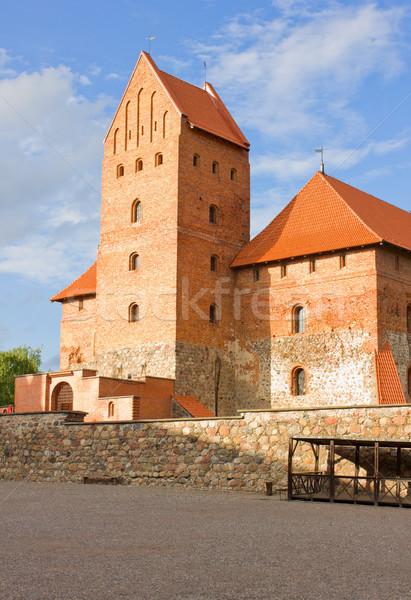 башни замок Литва старые средневековых путешествия Сток-фото © neirfy