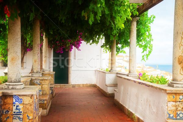 サンタクロース リスボン ポイント ポルトガル レトロな ストックフォト © neirfy
