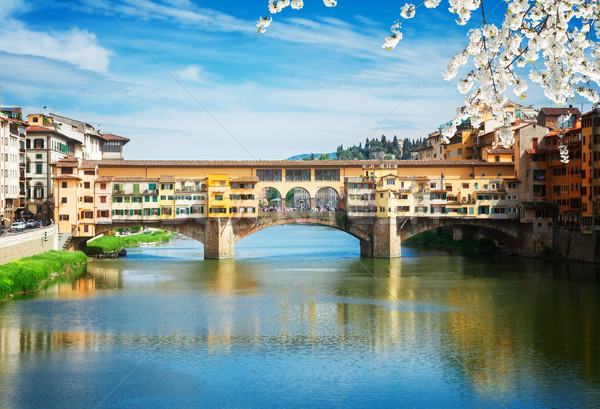 Ponte Vecchio, Florence, Italy Stock photo © neirfy