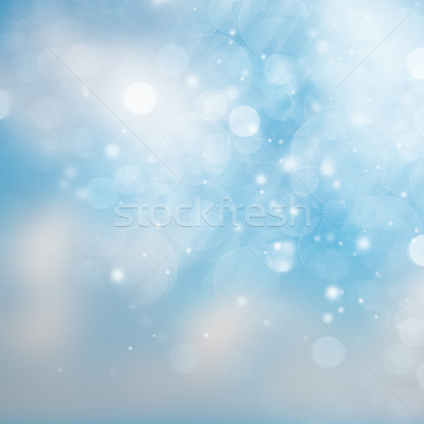 blue and white abstract sky background Stock photo © neirfy