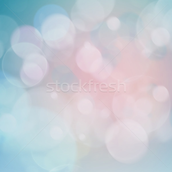 Blue and Pink  Lights Festive background Stock photo © neirfy
