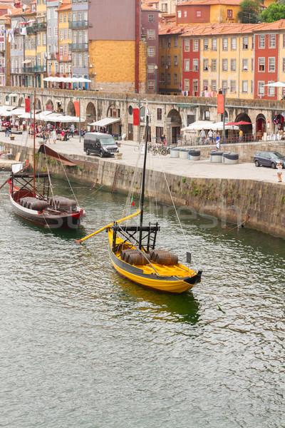 traditional rabelo boat Stock photo © neirfy