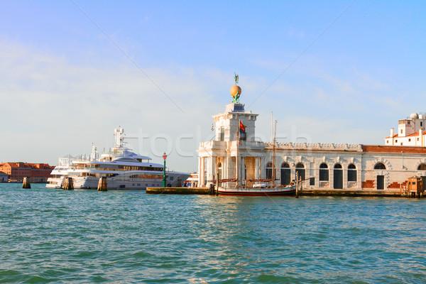 Dogana, Venice, Italy Stock photo © neirfy