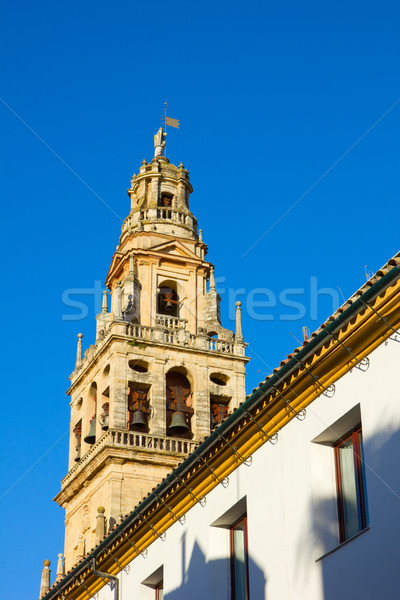 bell tower of cathedral,  Cordoba, Spain Stock photo © neirfy