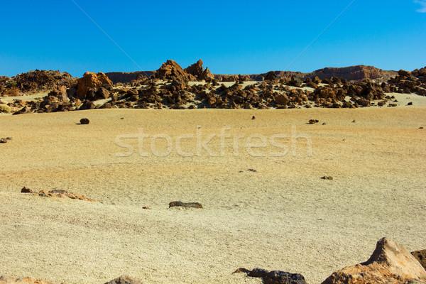 valley of Teide, Tenerife, Spain Stock photo © neirfy