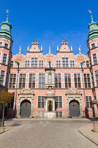 old baroque style great armory Gdansk, Poland Stock photo © neirfy