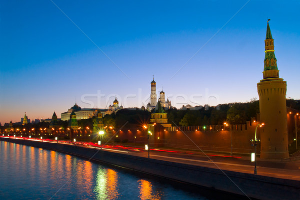 Kremlin on Moscow river, Moscow, Russia Stock photo © neirfy