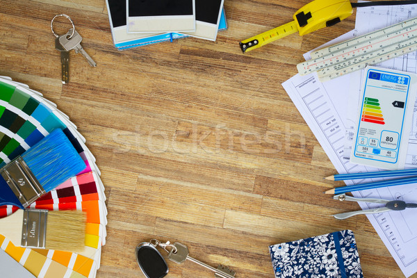 designer's working table Stock photo © neirfy