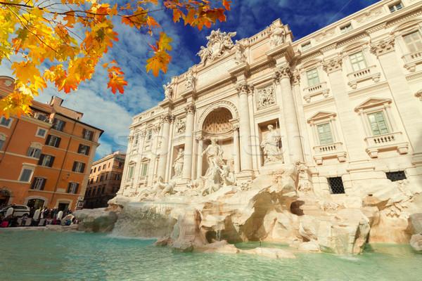 Stock photo: Fountain di Trevi in Rome, Italy