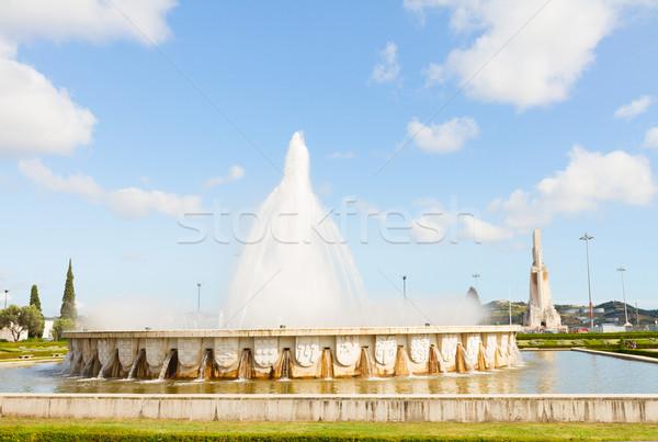 Belem district, Lisbon, Portugal Stock photo © neirfy