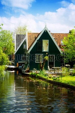 農村 オランダ語 風景 オランダ 小 古い ストックフォト © neirfy