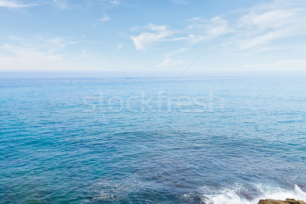 seascape with deap blue ocean waters Stock photo © neirfy