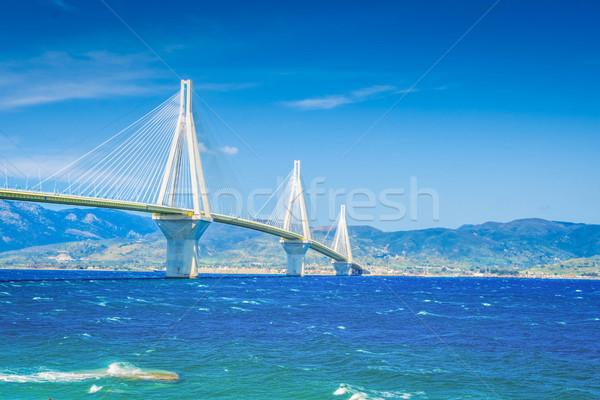 мнение Рио моста Средиземное море морем Греция Сток-фото © neirfy