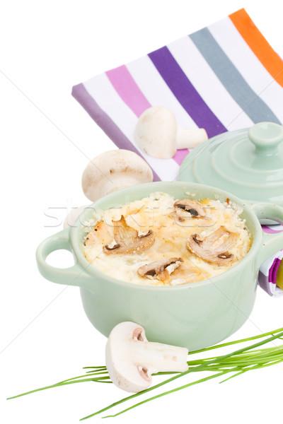 mushroom julienne Stock photo © neirfy