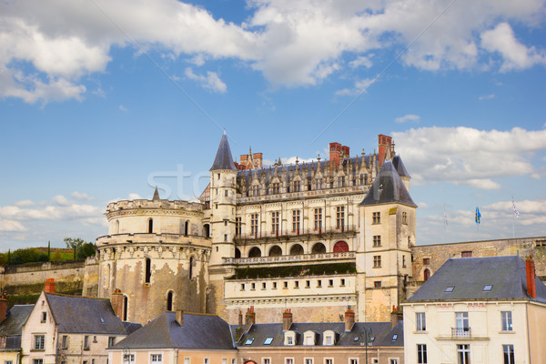 Amboise castle, France Stock photo © neirfy