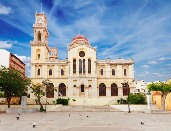 Agios Minas church, Heraklion, Greece Stock photo © neirfy