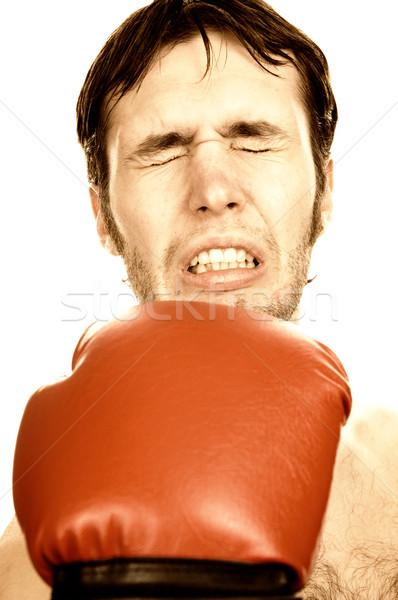 Funny boxer Stock photo © Nejron