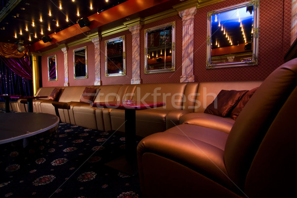 Luxury night club interior Stock photo © Nejron