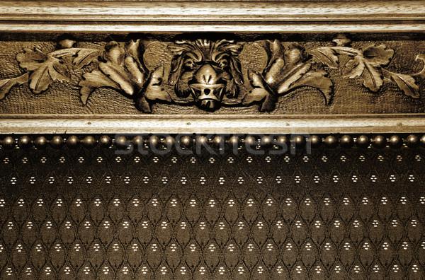 Résumé gothique texture nature design meubles Photo stock © Nejron