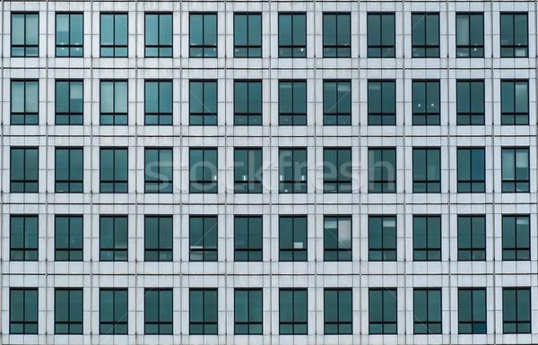Windows moderno prédio comercial negócio escritório cidade Foto stock © Nejron