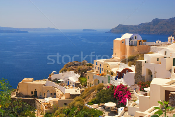 Beautiful landscape view (Santorini Island, Greece) Stock photo © Nejron