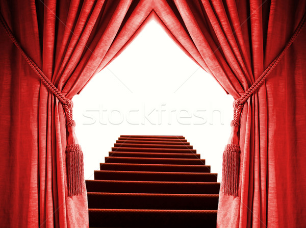 Yol şan dizayn tiyatro bağbozumu halat Stok fotoğraf © Nejron