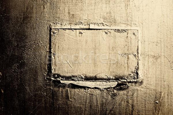 Abstrato textura do grunge título projeto pintar fundo Foto stock © Nejron