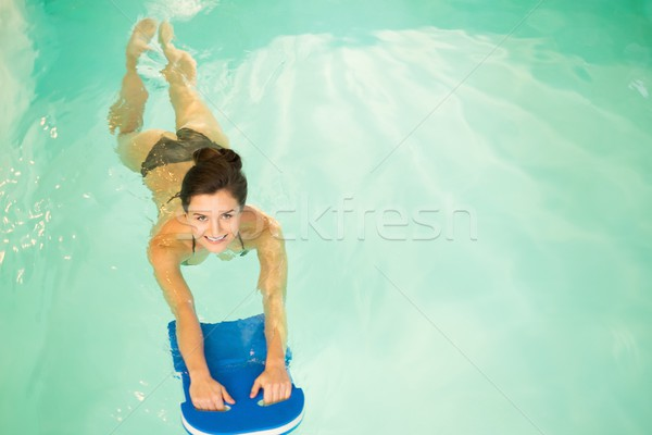 Woman on water aerobics workout  Stock photo © Nejron