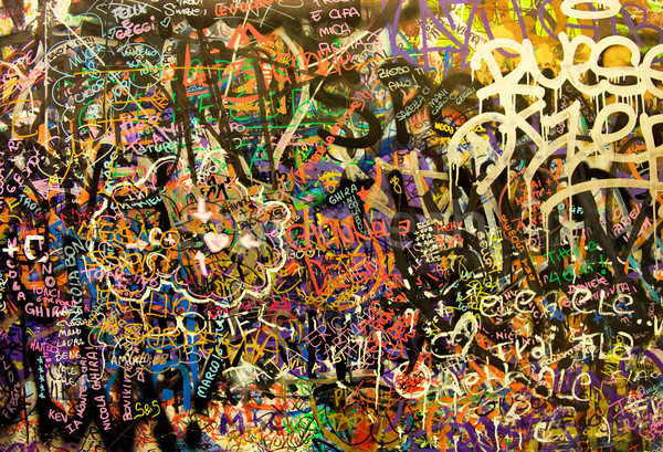 Graffiti background Stock photo © Nejron