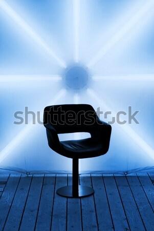 Futuristic design (toned in blue) Stock photo © Nejron