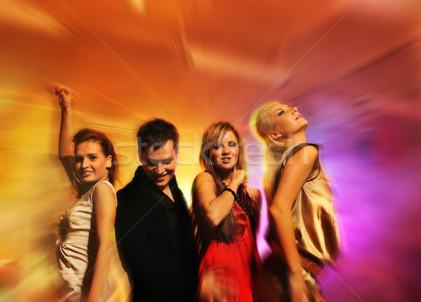 People dancing in the night club  Stock photo © Nejron
