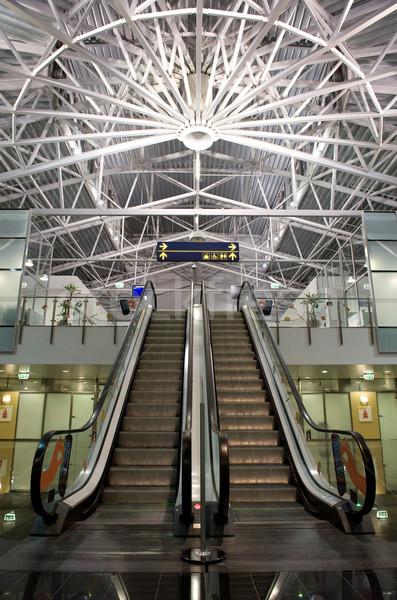Modern airport interior Stock photo © Nejron