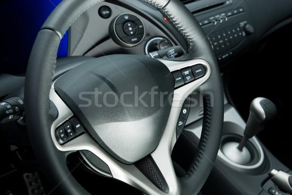 車 インテリア スポーツ 背景 速度 電源 ストックフォト © Nejron