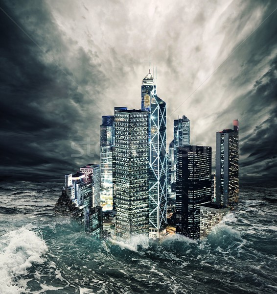 The end of the world Stock photo © Nejron