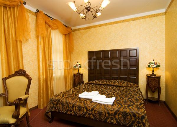Luxury hotel room Stock photo © Nejron
