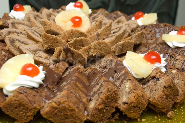 説明 パーティ 歳の誕生日 ケーキ 表 ストックフォト © Nejron