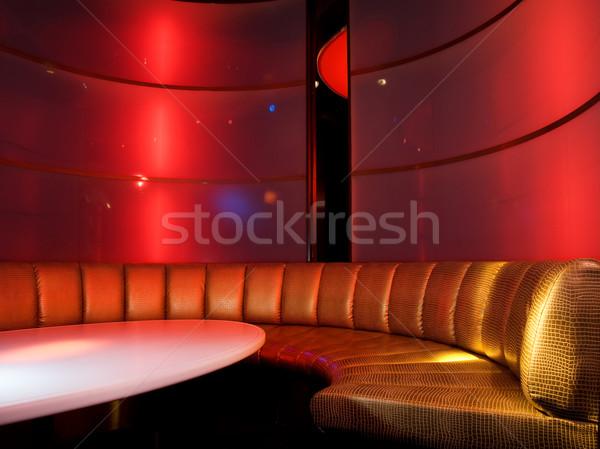 ナイトクラブ インテリア 音楽 レストラン ディスコ バー ストックフォト © Nejron