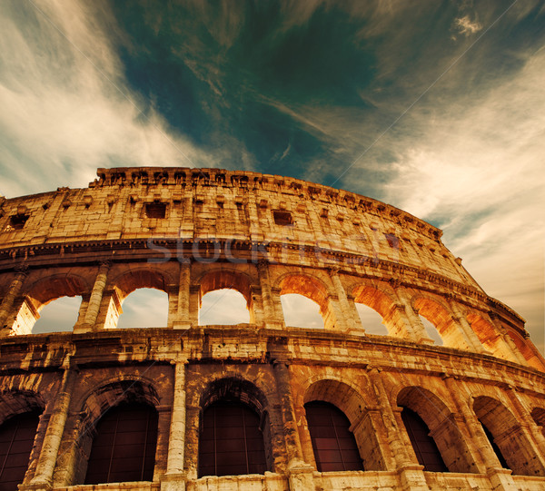 Colosseum (Rome, Italy) Stock photo © Nejron