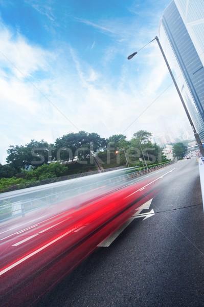 Fast moving cars Stock photo © Nejron