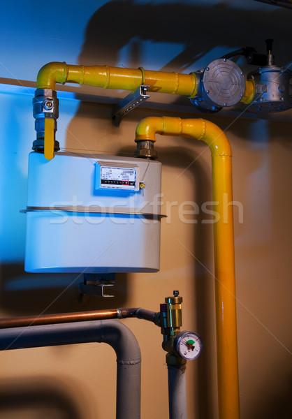 Factory pipes Stock photo © Nejron