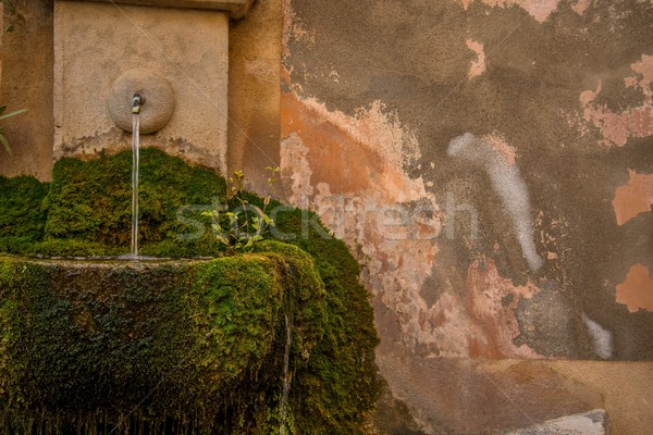 Drinking fountain in wall Stock photo © Nejron