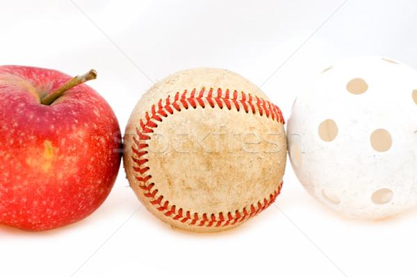 ストックフォト: 説明 · フルーツ · スポーツ · 楽しい · ボール