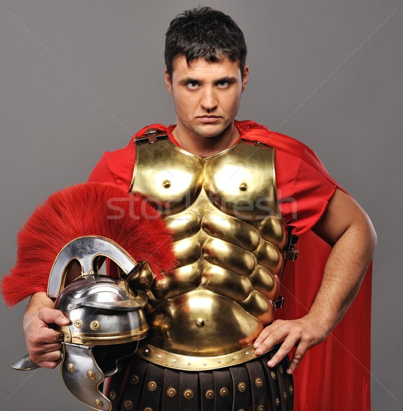 Portrait of a roman legionary soldier Stock photo © Nejron
