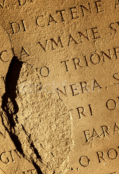 Roman letters texture Stock photo © Nejron