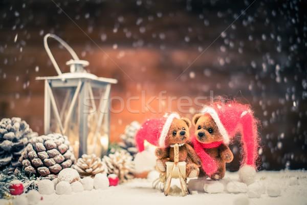 小 おもちゃ クリスマス 静物 光 ストックフォト © Nejron