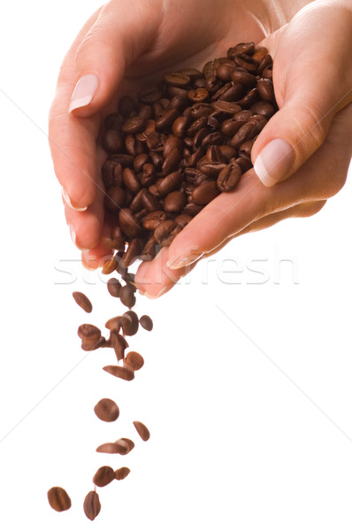 Handful of a coffee Stock photo © Nejron